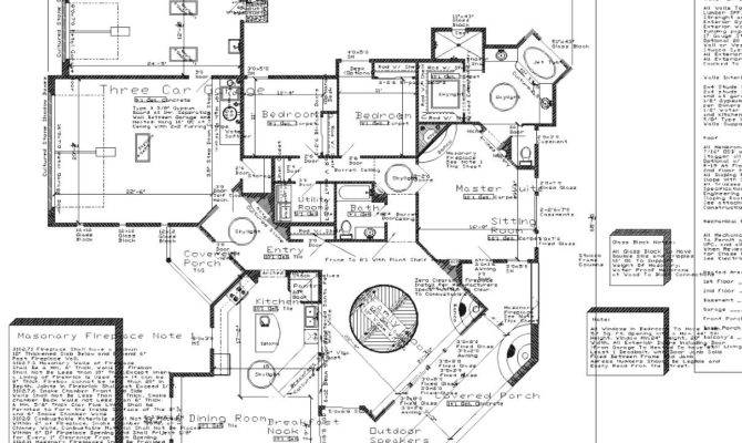 Open Concept House Plans Large Kitchen