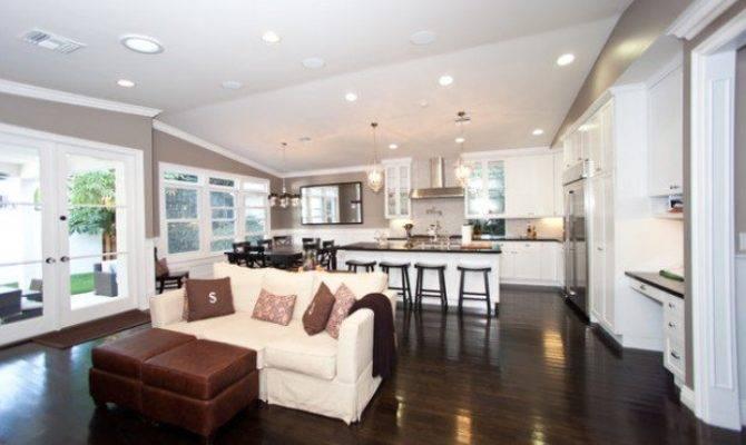 Open Concept Kitchen Living Room Design Ideas Style House Plans 89585