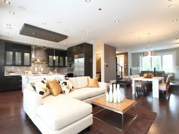 Open Concept Kitchen Living Room Design Ideas Style House Plans 89583