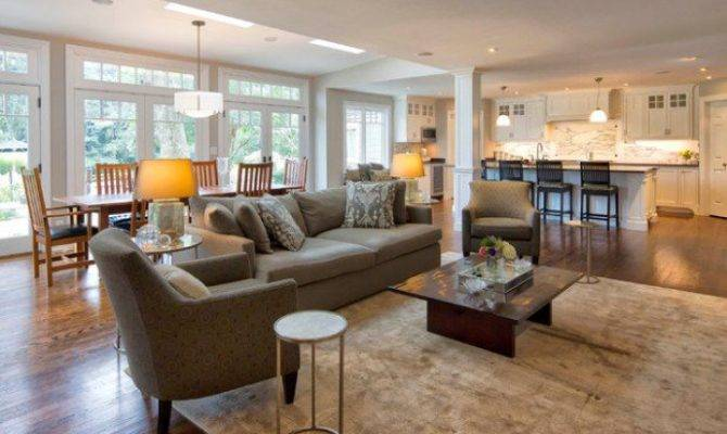 21 Dream Open Floor Plan Kitchen Dining Living Room Photo House Plans