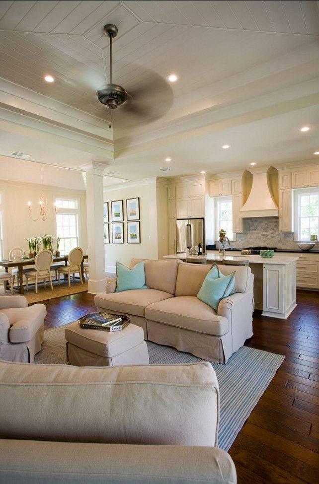 Open Concept Kitchen Living Room Design Ideas House Plans 89594