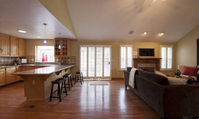 Open Concept Kitchen Room