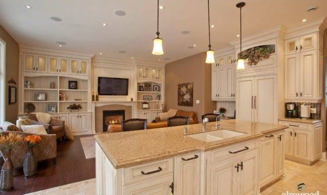 Open Concept Kitchens Continue Allow Seamless Transition