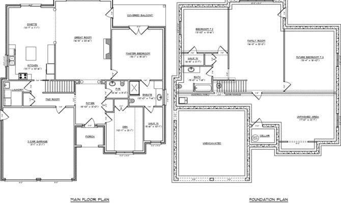 Open Concept Ranch Home Floor Plans Bedroom Captivating