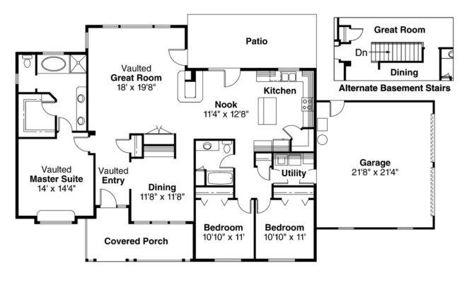 Open Country Kitchen Floor Plans Gurus