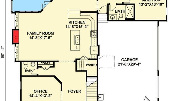 Open Floor Plan Farmhouse Master