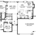 Open Floor Plan Hmaffdw Prairie Style House Plans