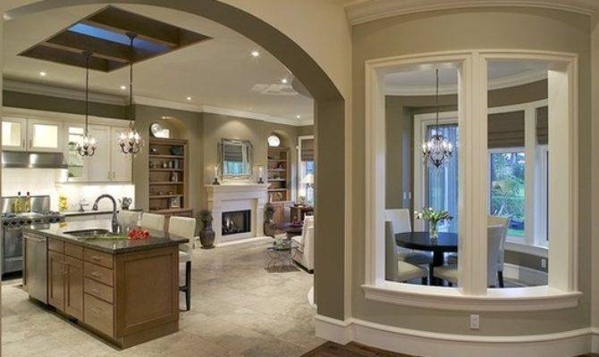 Open Floor Plan Homes With Pictures