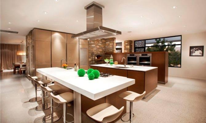 Open Floor Plan Kitchen Dining Living Room Large