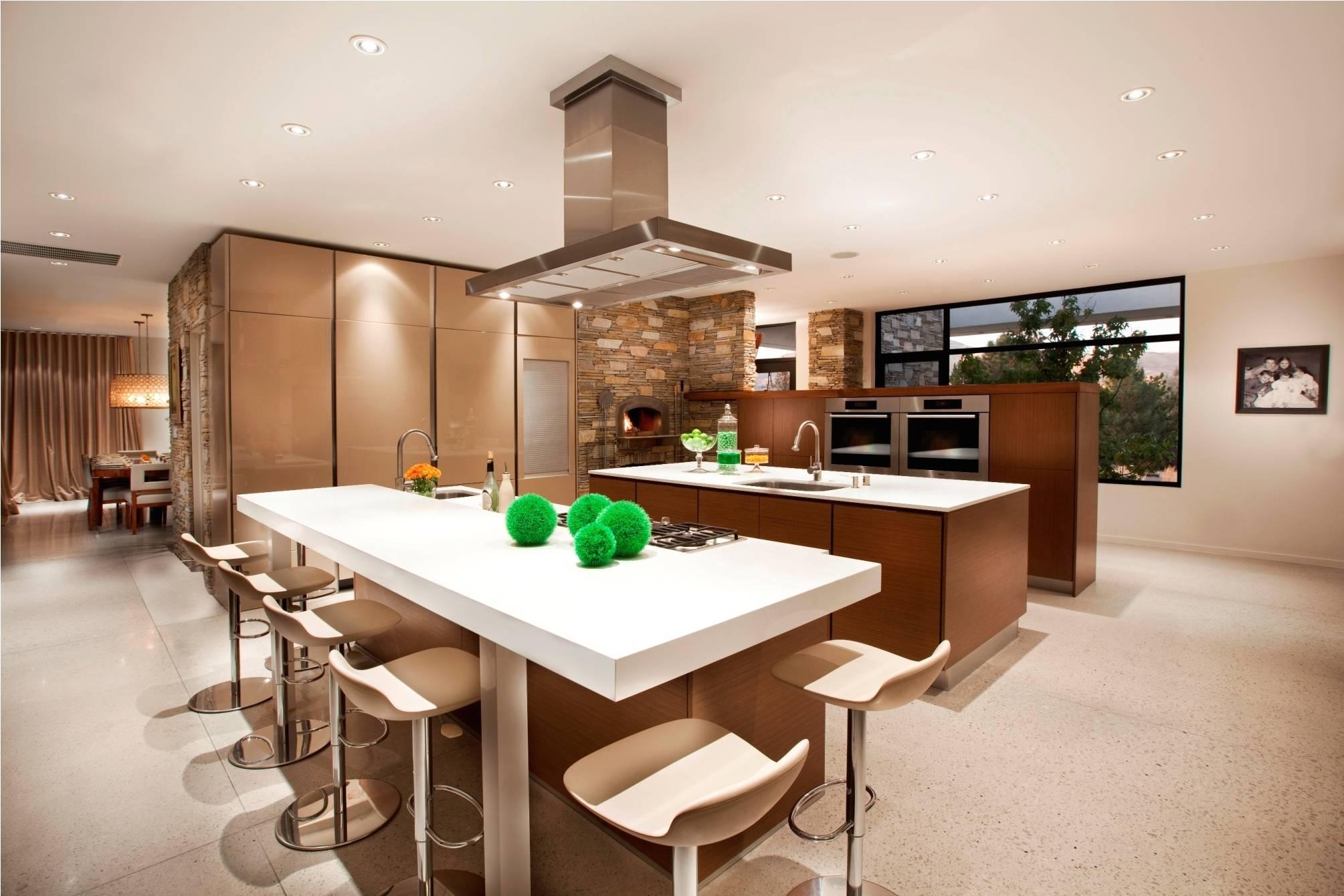 Open Floor Plan Kitchen Dining Living
