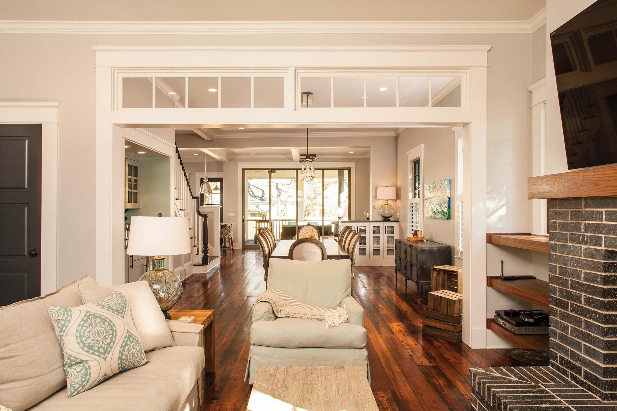 Open Floor Plan Living Room Dining House Plans 39598