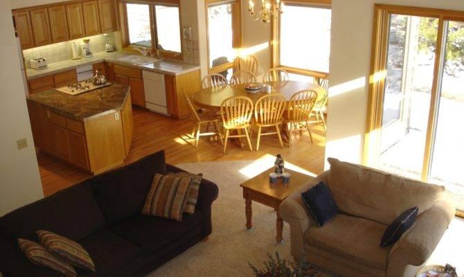 Open Floor Plan Living Room Kitchen