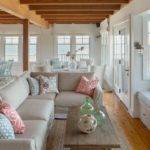 Open Floor Plan Waterfront Beach Cottage Boasts