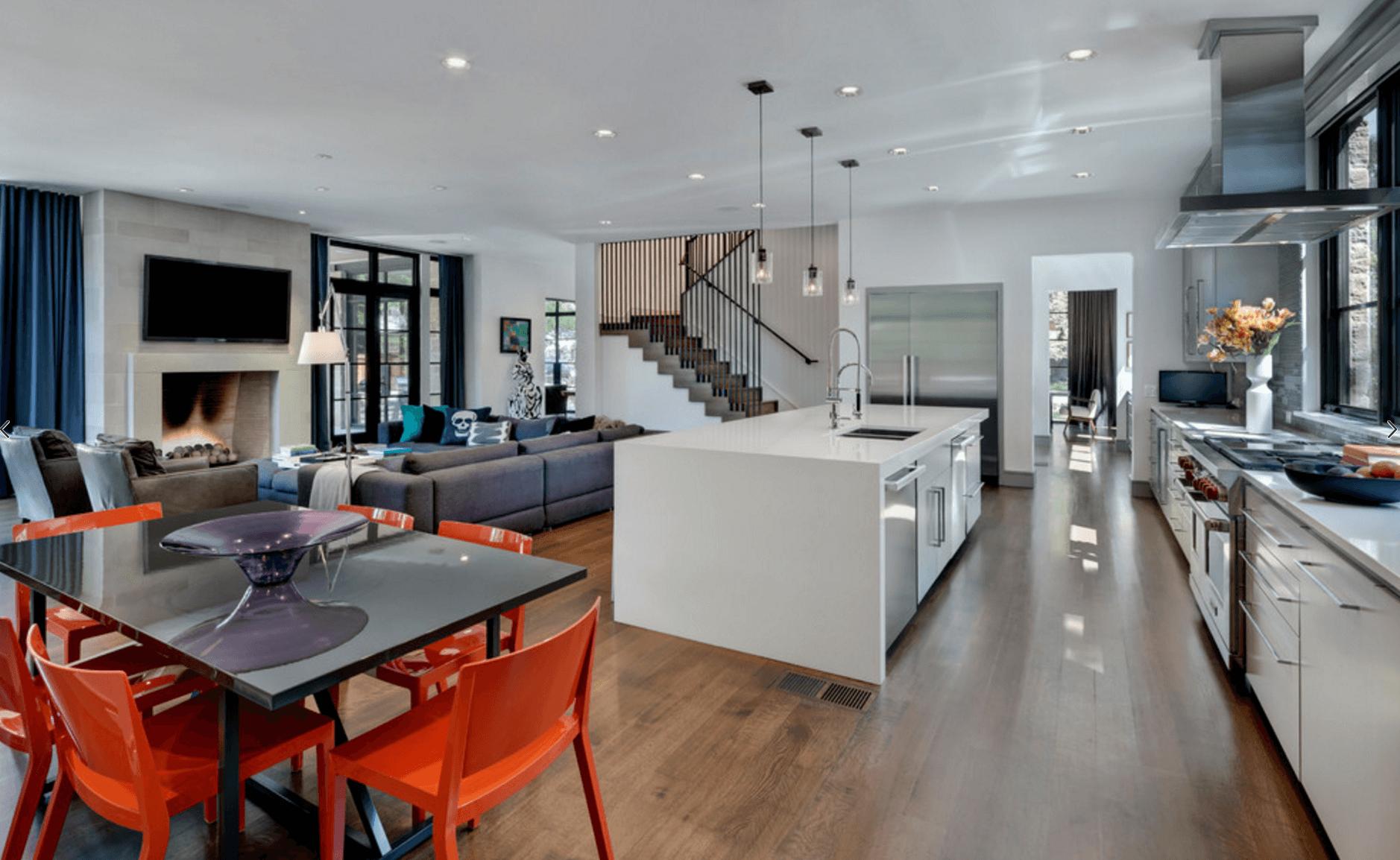 Open Floor Plans Trend Modern Living House Plans 88563
