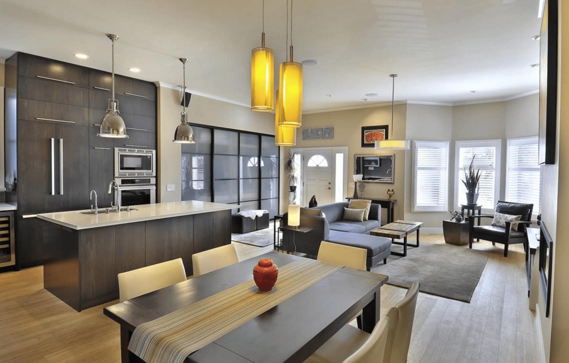 Open Floor Plans Trend Modern Living House Plans 103545