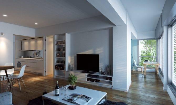 Open Floorplan Living Room Interior Design Ideas
