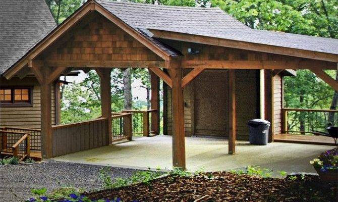 Open Garage Plans Remarkable Carport Storage