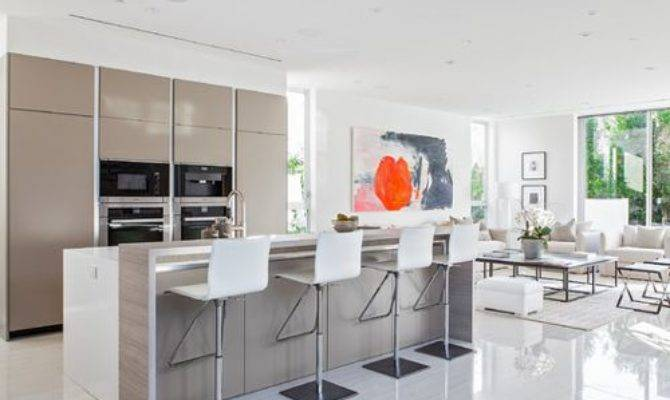 Open Kitchen Design Houzz