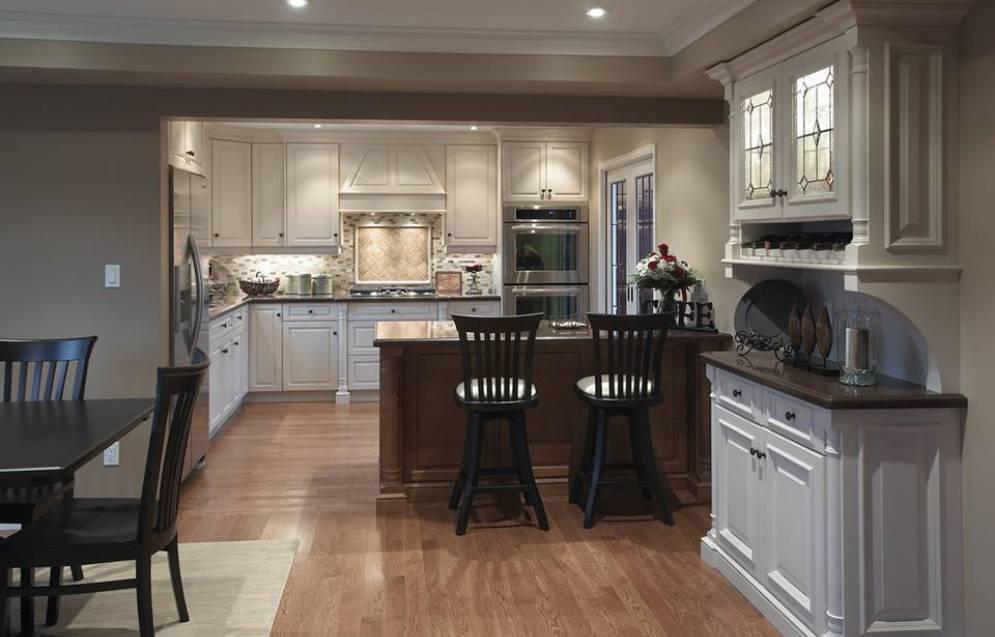 Open Kitchen Designs Design Shape India Small Space ...