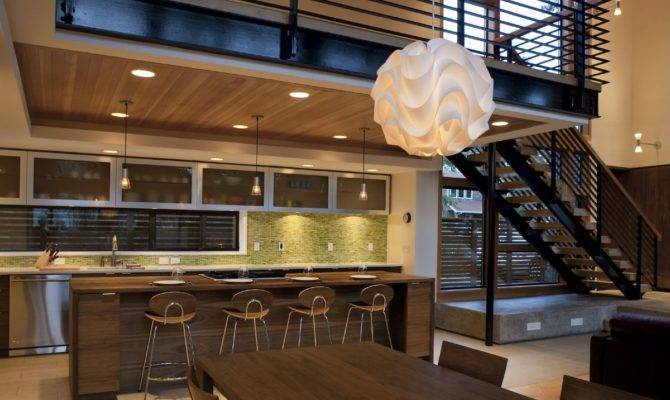 Open Kitchen Dining Room Designs Decobizz