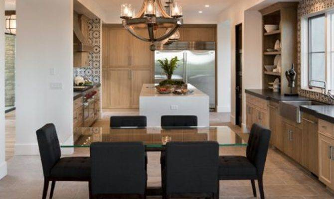 Open Kitchen Dining Room Houzz