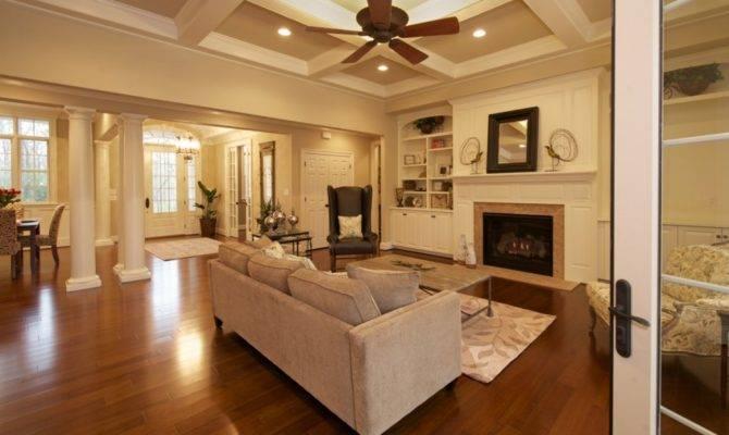 Open Kitchen Floor Plan Also Known Great Room