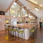 Open Kitchen Floor Plans Islands Home Design Decor Reviews