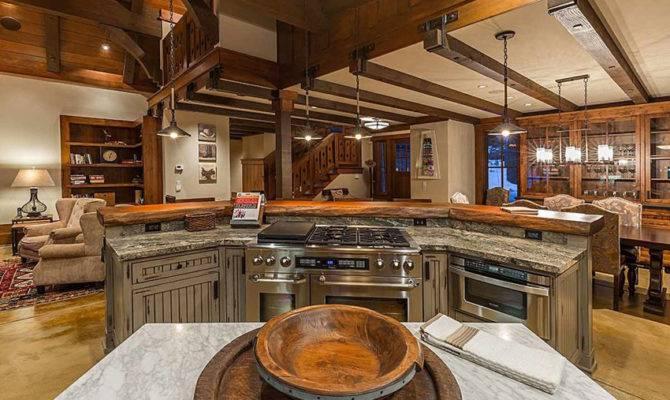 Open Kitchen Layout Home Design