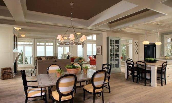 Open Kitchen Living Room Floor Plans Remodeling Ideas