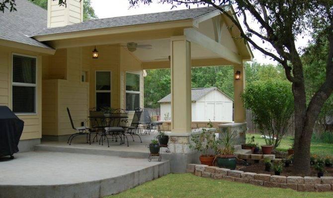 Open Patio Porch Austin Outdoor Living