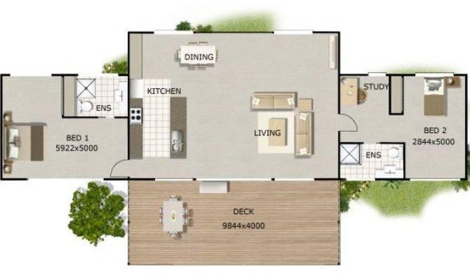 Open Plan House Designs Acreage Base