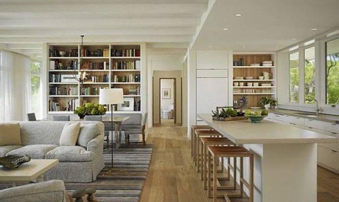 Open Plan Living Room Decorating Ideas