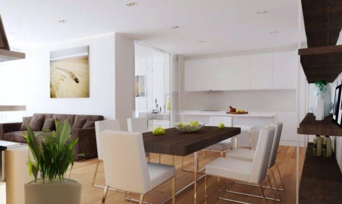 Open Plan Living Room Kitchen Diner Design Decor