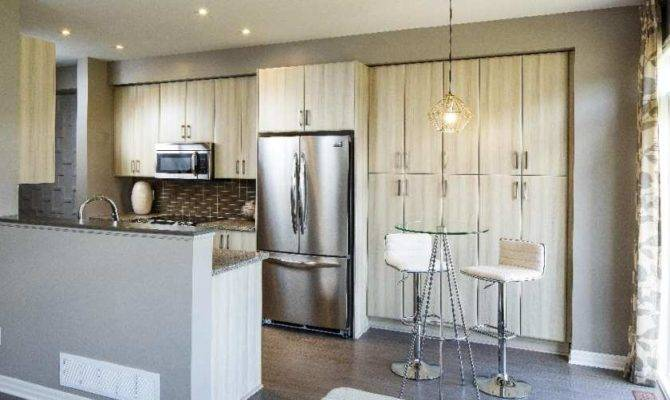 Open Plans Touches Like Inch Upper Cabinets Meant Meet