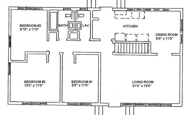 Open Ranch Style Home Floor Plan Jpeg