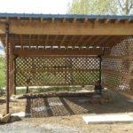Open Shed Designs Plans Diy Wood Lets