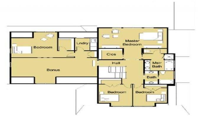 Open Small House Plans Modern Design Floor