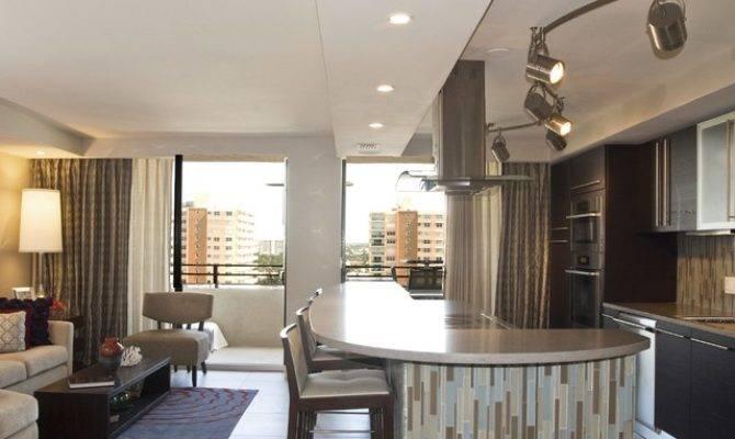 Open Space Concept Kitchen Modern Miami