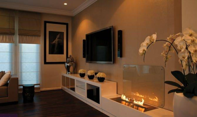 Open Topped Contemporary Fireplace Solutions Look Fabulous Home