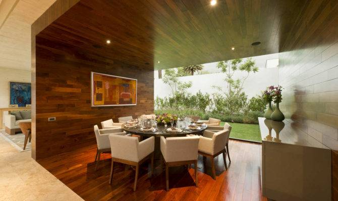 Open Wall Dining Room