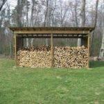 Open Wood Shed Plans Build Pole Building Men