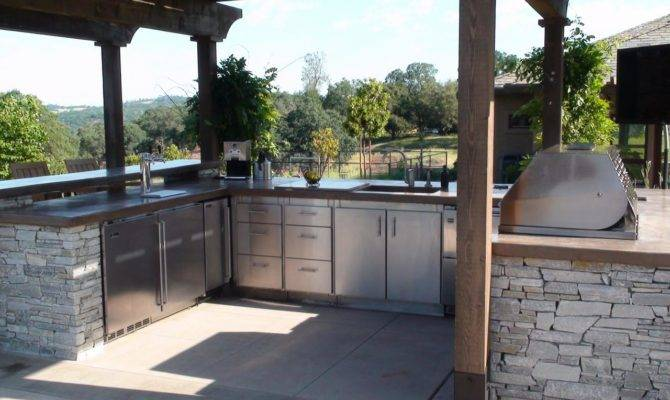 Optimizing Outdoor Kitchen Layout Design Landscaping