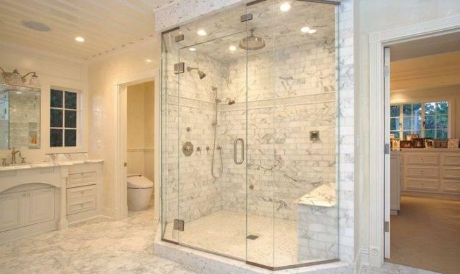 Opulent Marble Master Bath Live Pinterest