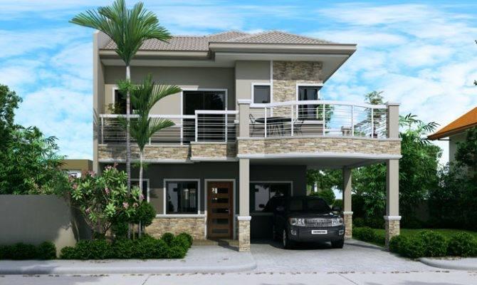 Ordinary Double Storey Houses Design Amazing