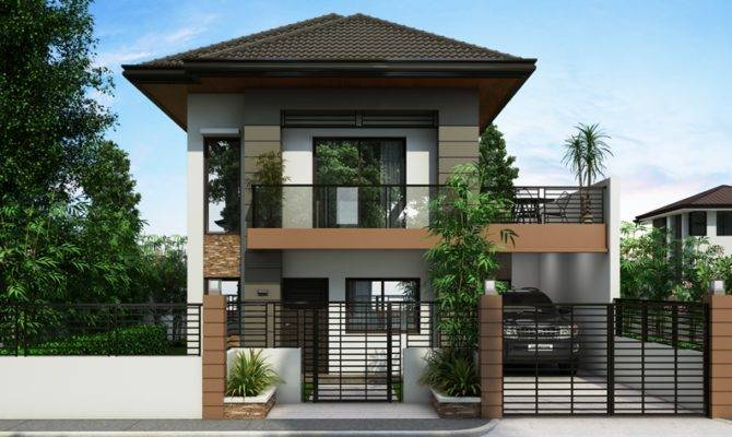 Ordinary Double Storey Houses Design Amazing