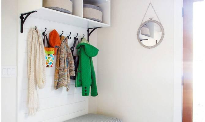 Organized Inspiring Small Mud Rooms Areas