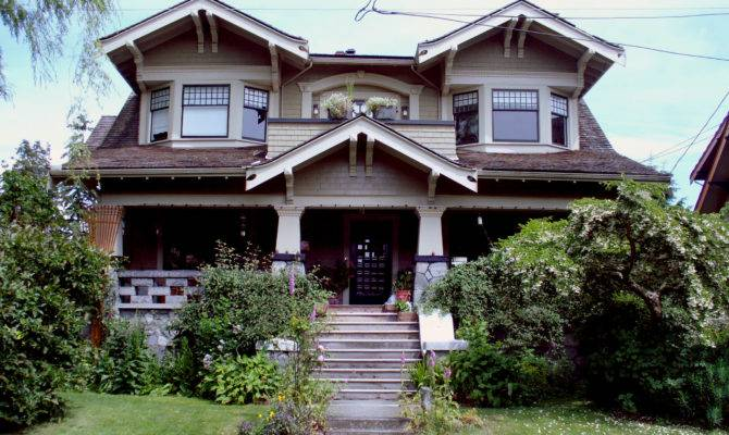Original Craftsman Arts Craft Style Homes Were Built