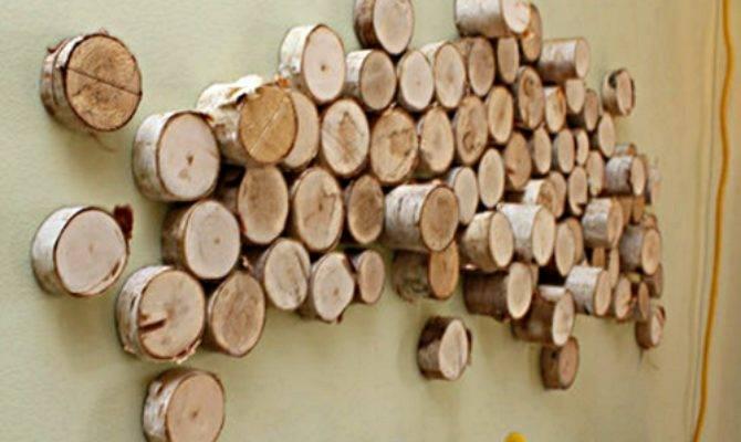 Original Ideas Decorating Wood Slices