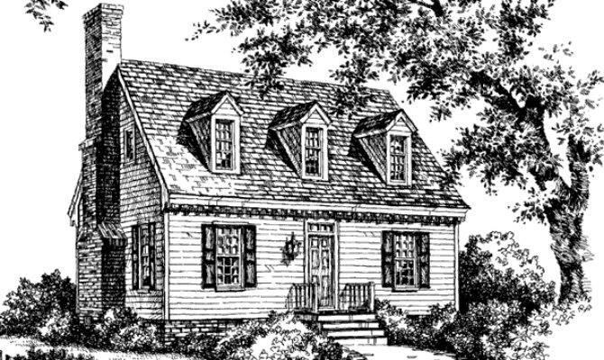 Our Colonial Cottage Cardy Southern Living House Plans