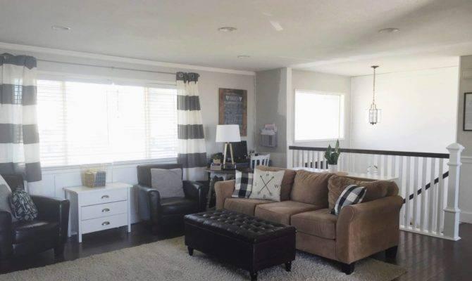 Our Split Level Fixer Upper Superior Living Room